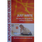 Just Write (co-author Kathleen McMillan)