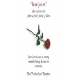 Love Jones, The Real Version: From a Poet's Point of View