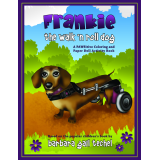 Frankie the Walk N Roll Dog Coloring and Paper Doll Activity Book