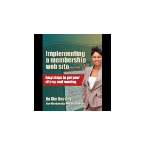 Implementing a membership web site