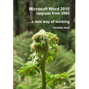 Microsoft Word 2010 upgrade from 2003: A New Way of Working