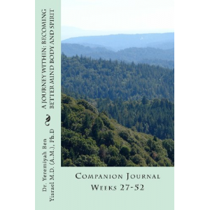 A Journey Within: Becoming Better Mind Body And Spirit: Companion Journal Weeks 27-52