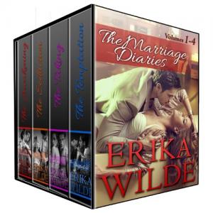 THE MARRIAGE DIARIES (Volumes #1 - #4) (Erotic Romance)