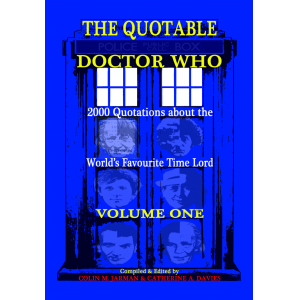 The Quotable Doctor Who - Dr Who quotes book