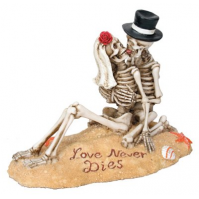Beach Lovers - Collectible Figurine Statue Sculpture Figure Skeleton by StealStreet - Worth $18.95