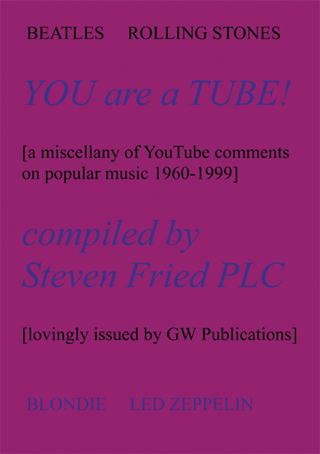 'You Are A Tube!'