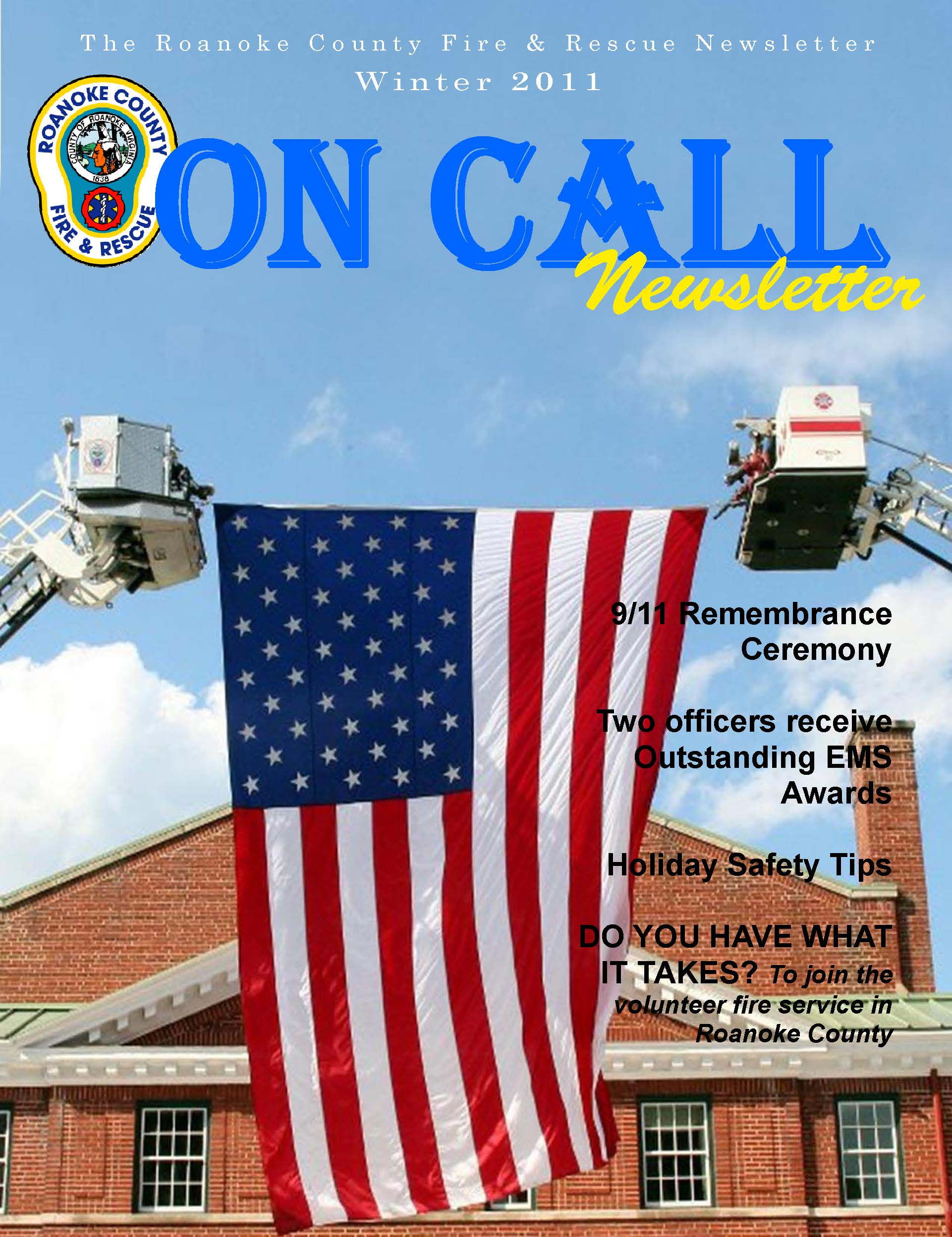 On Call - 2011 Winter Edition