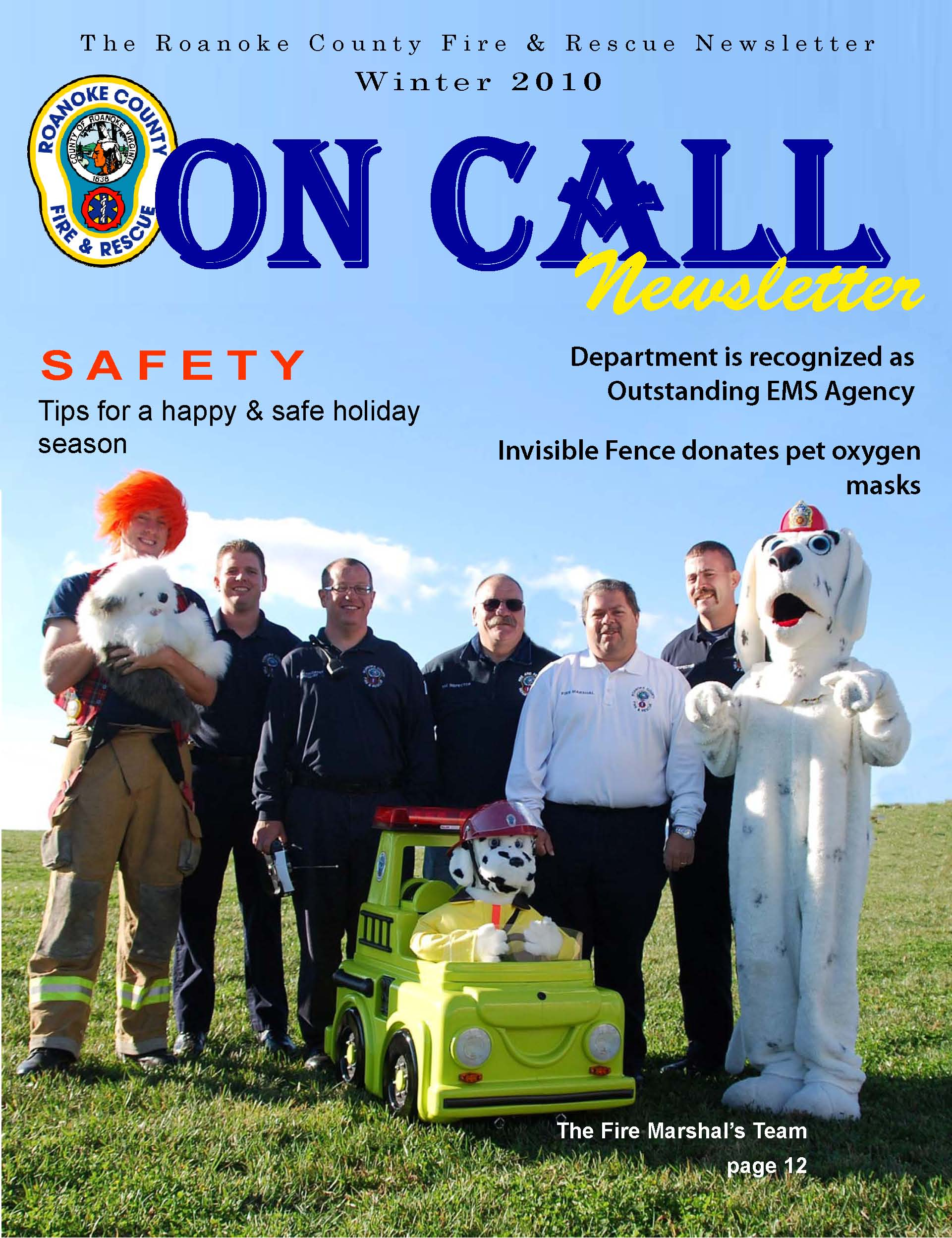 On Call - 2010 Winter Edition