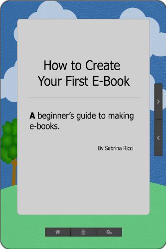 How to Create Your First E-Book
