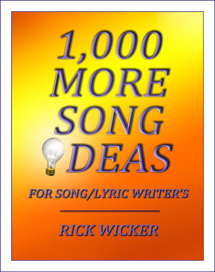 1,000 More Song Ideas