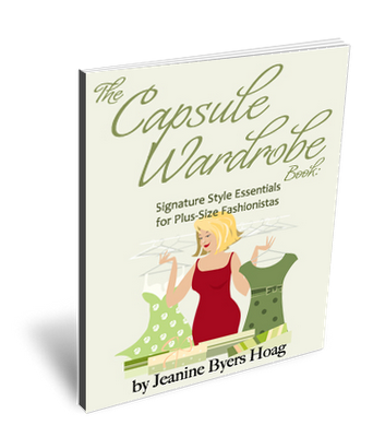 The Capsule Wardrobe Book: Signature Style Essentials for Plus-Size Fashionistas