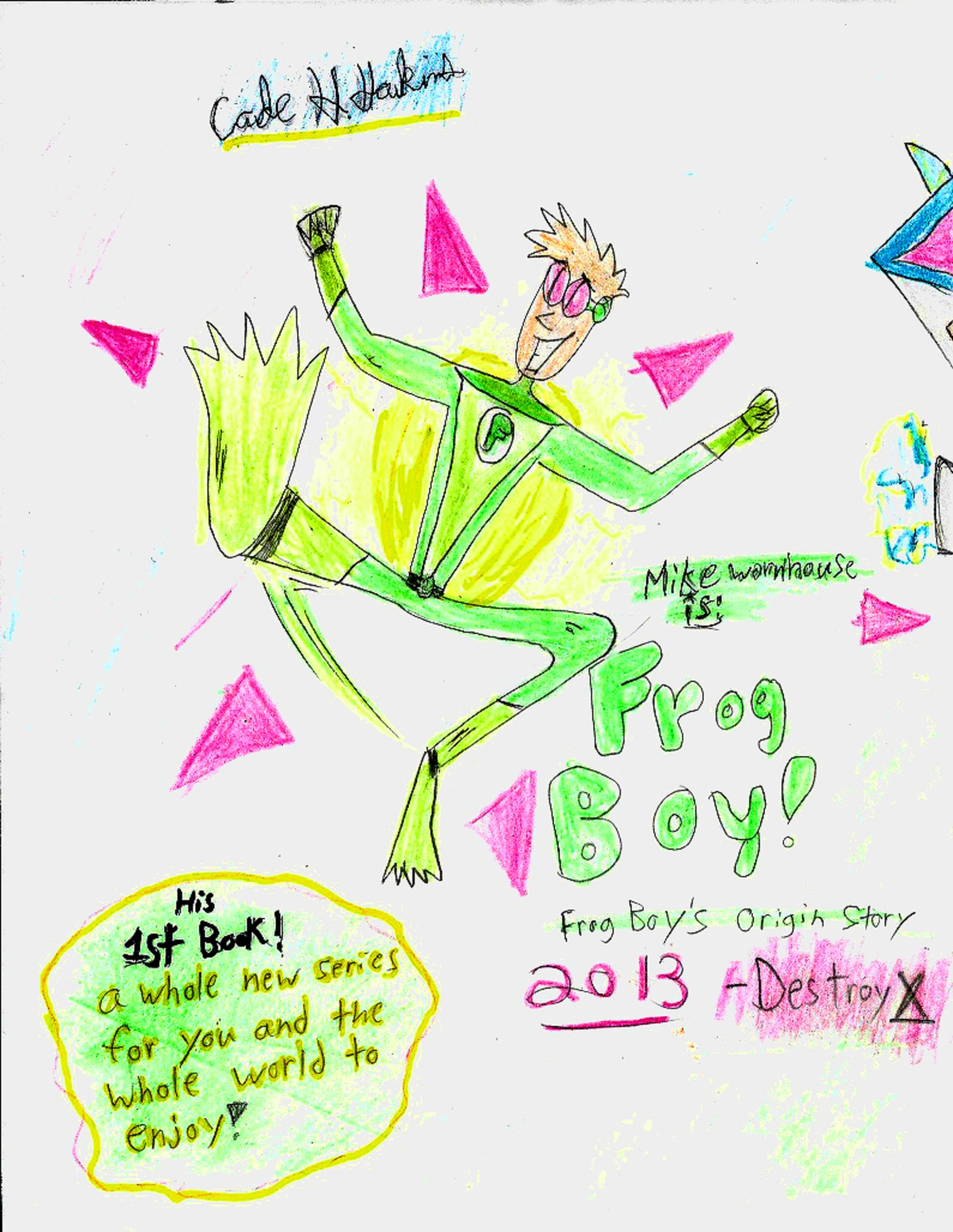 Frog Boy-Frog Boy's Origin story