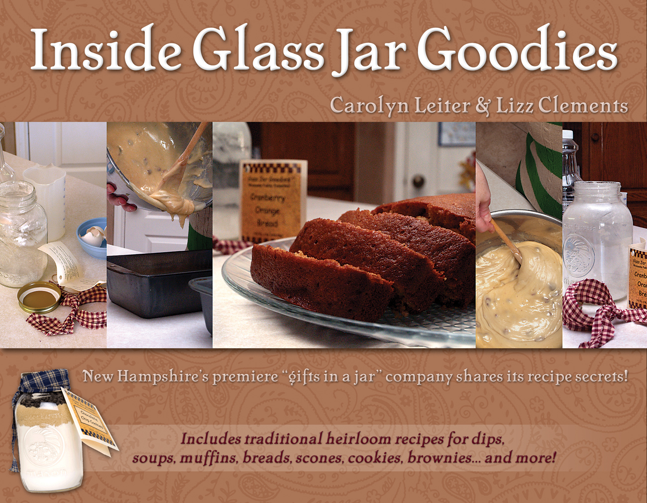Inside Glass Jar Goodies