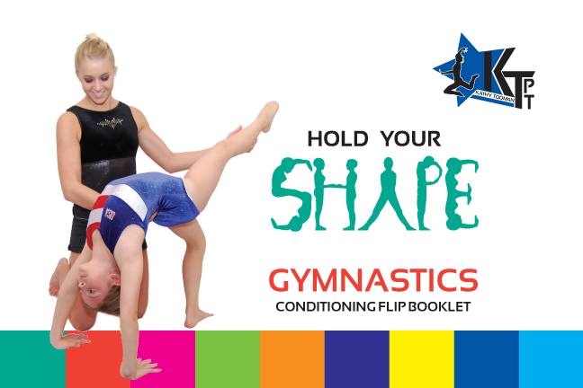 HOLD YOUR SHAPE, Gymnastics Conditioning Flip Booklet