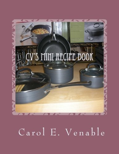 CV's Mini Recipe Book