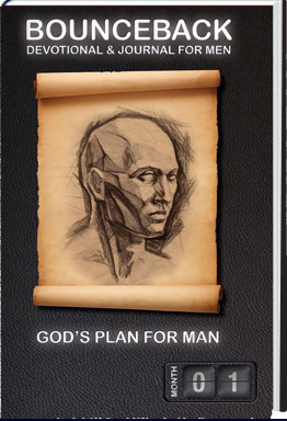 BounceBack Devotional and Journal for Men - God's Plan for Man