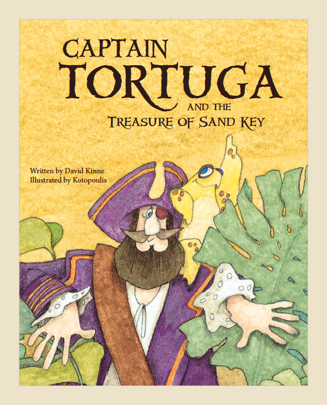 Captain Tortuga and the Treasure of Sand Key