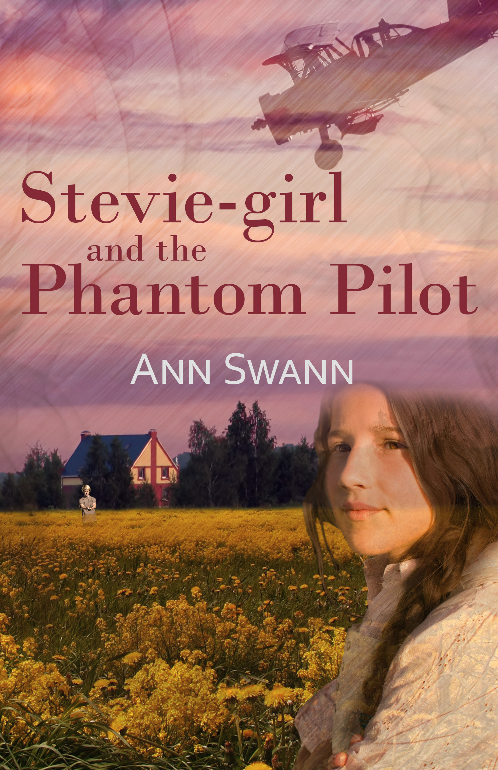 Stevie-girl and the Phantom Pilot (Book One of The Phantom Series)