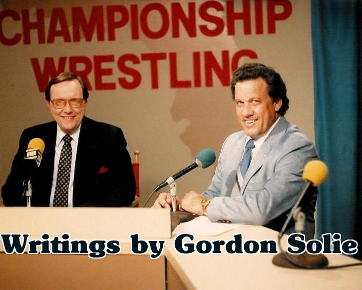 Writings by Gordon Solie