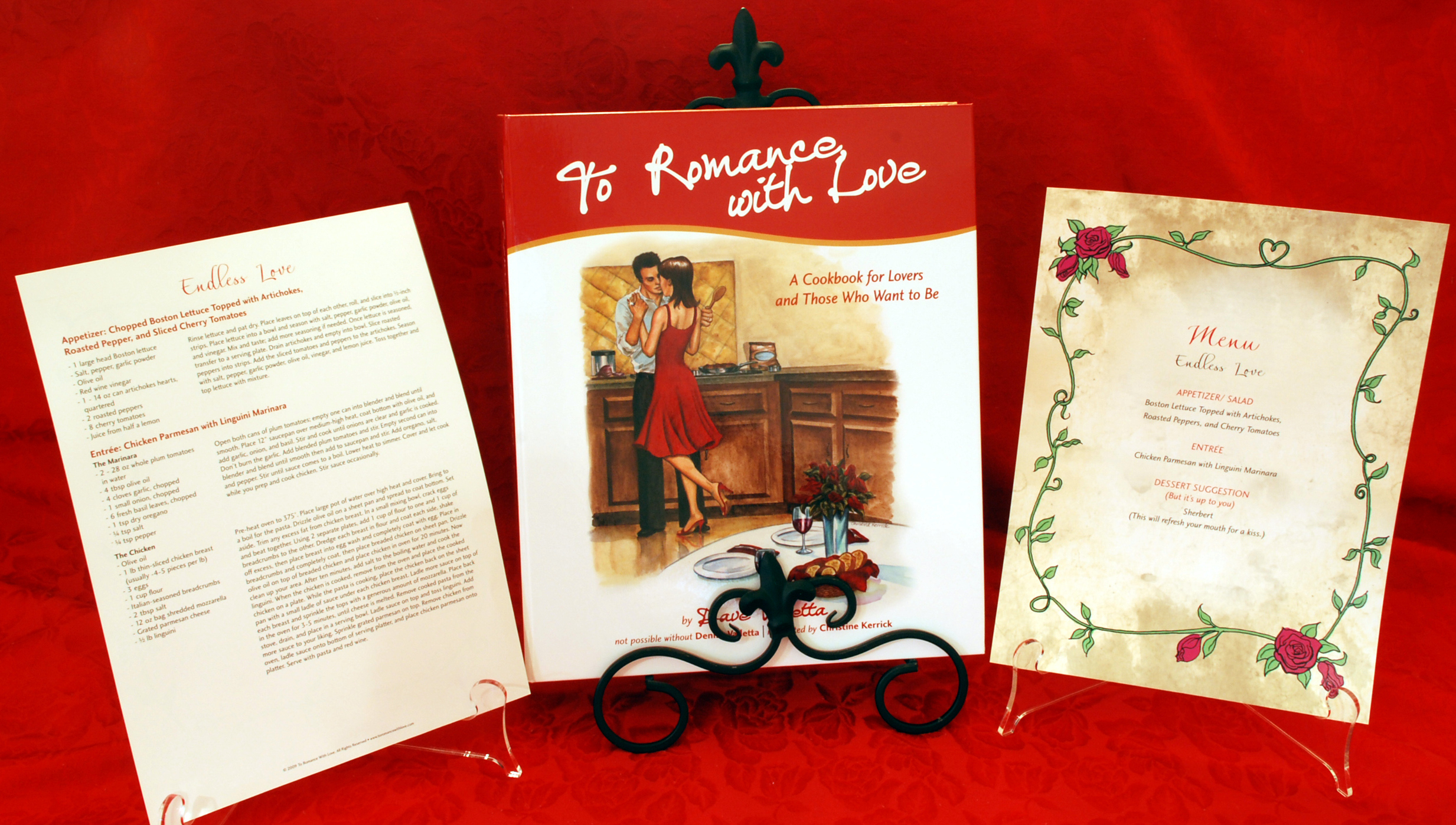 To Romance With Love : A Cookbook for Lovers and Those Who Want To Be