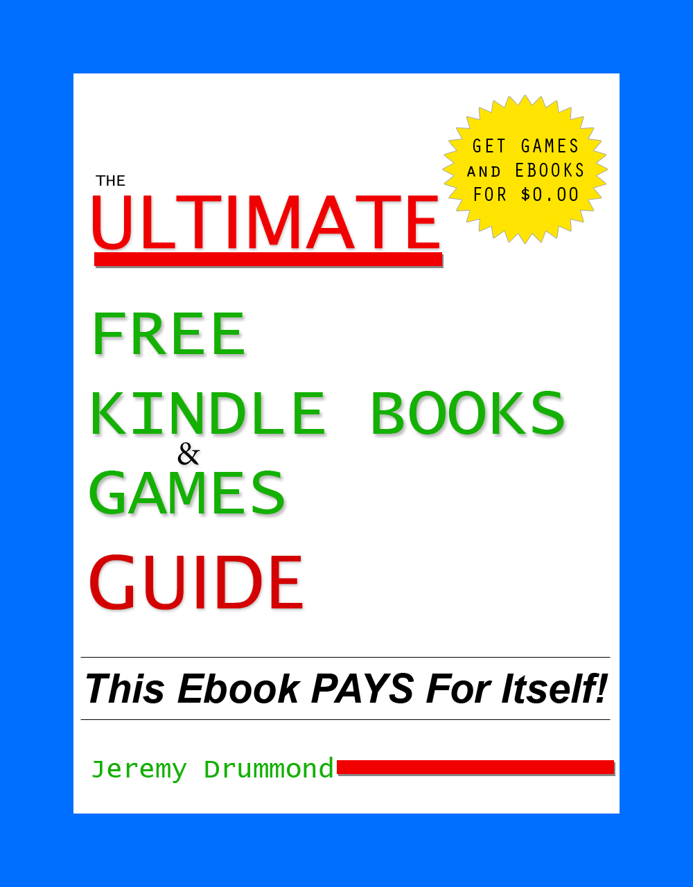 Ultimate Free Kindle Books and Games Guide