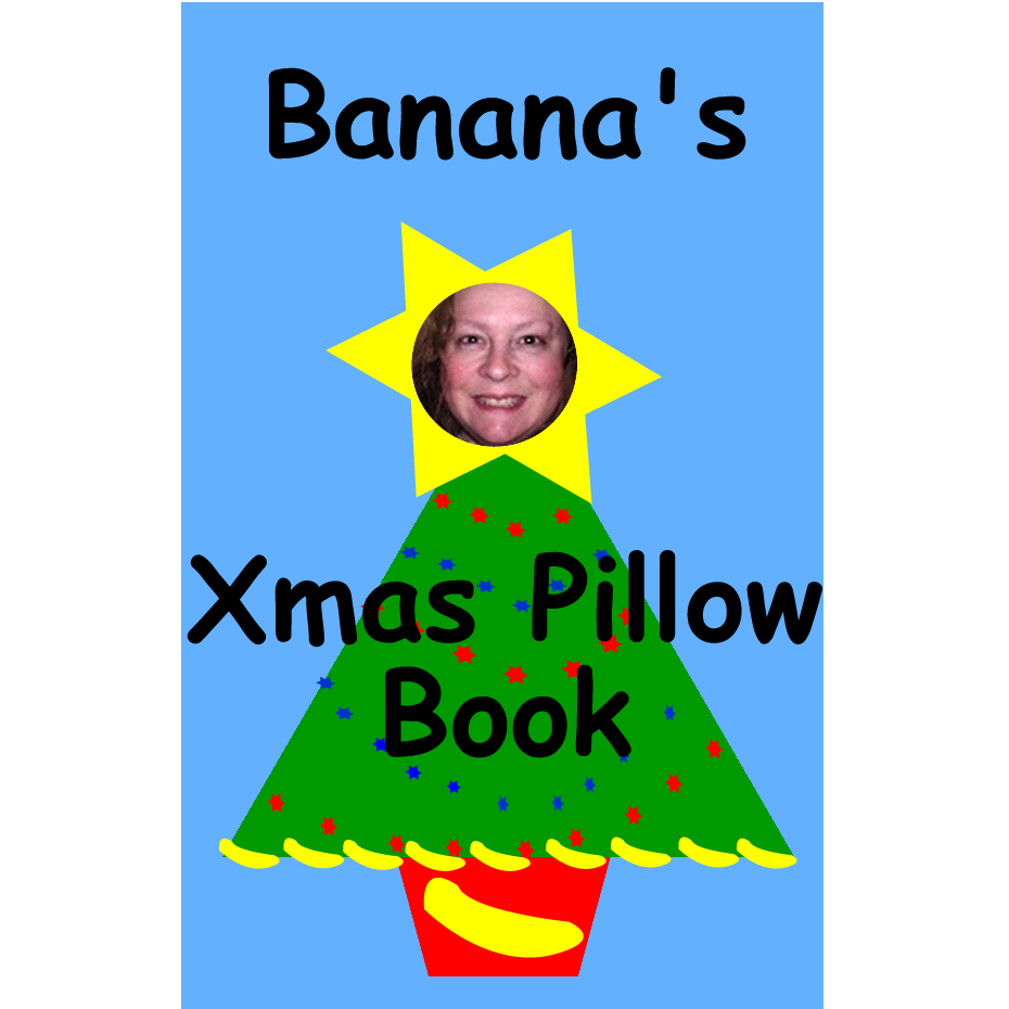 Banana's Xmas Pillow Book - BookBuzzr edition