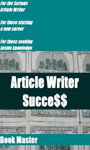 Article Writer Success