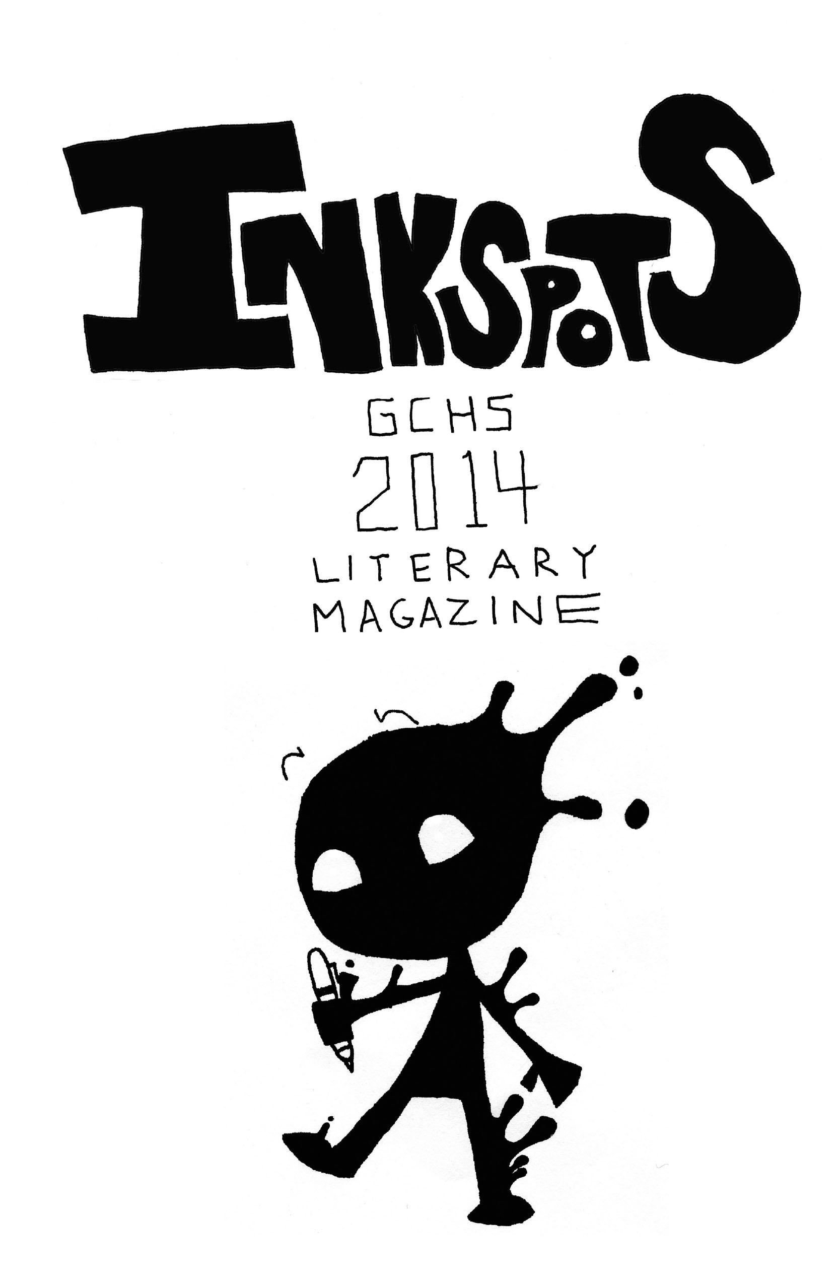 GCHS Inkspots: Literary Magazine 2014